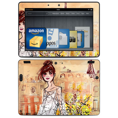 Amazon Kindle HDX 8.9 Skin - Mimosa Girl