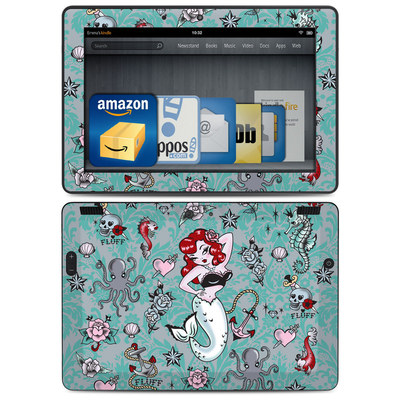 Amazon Kindle HDX 8.9 Skin - Molly Mermaid