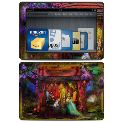 Amazon Kindle HDX 8.9 Skin - A Mad Tea Party