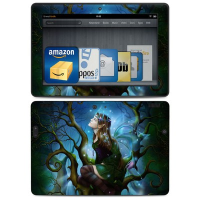 Amazon Kindle HDX 8.9 Skin - Nightshade Fairy