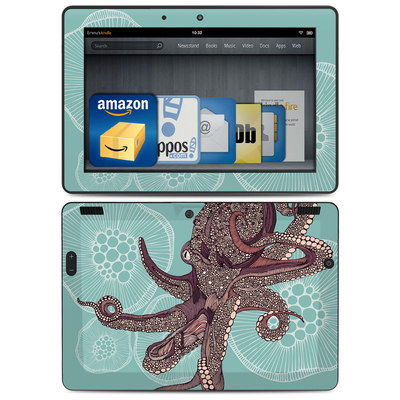 Amazon Kindle HDX 8.9 Skin - Octopus Bloom