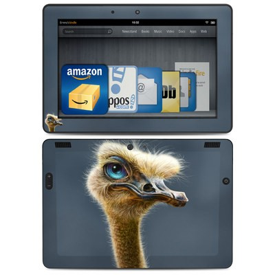 Amazon Kindle HDX 8.9 Skin - Ostrich Totem