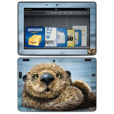 Amazon Kindle HDX 8.9 Skin - Otter Totem