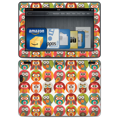 Amazon Kindle HDX 8.9 Skin - Owls Family