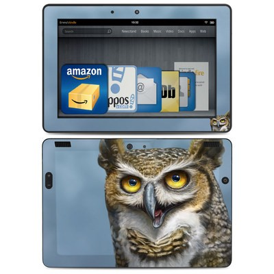 Amazon Kindle HDX 8.9 Skin - Owl Totem
