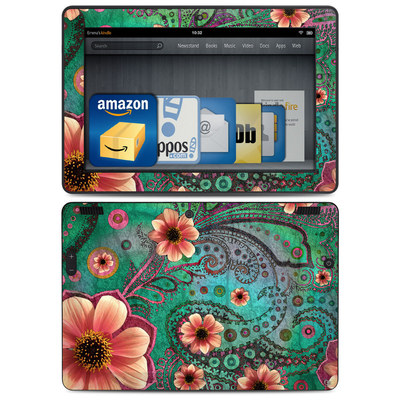 Amazon Kindle HDX 8.9 Skin - Paisley Paradise