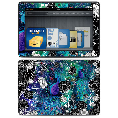 Amazon Kindle HDX 8.9 Skin - Peacock Garden