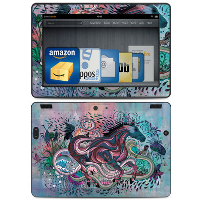 Amazon Kindle HDX 8.9 Skin - Poetry in Motion