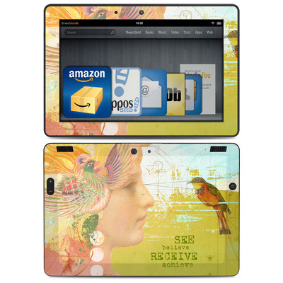 Amazon Kindle HDX 8.9 Skin - See Believe