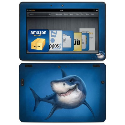 Amazon Kindle HDX 8.9 Skin - Shark Totem