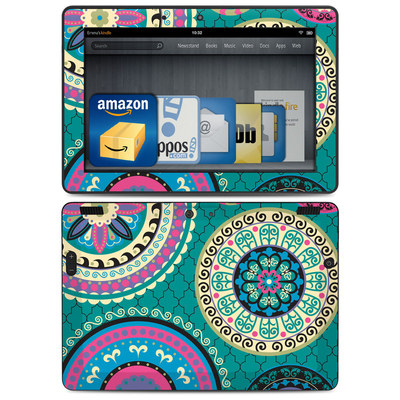 Amazon Kindle HDX 8.9 Skin - Silk Road