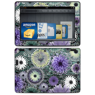 Amazon Kindle HDX 8.9 Skin - Tidal Bloom