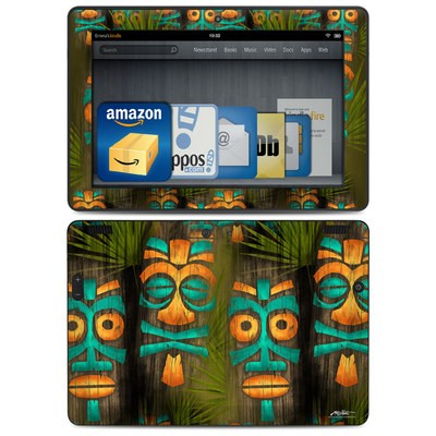 Amazon Kindle HDX 8.9 Skin - Tiki Abu