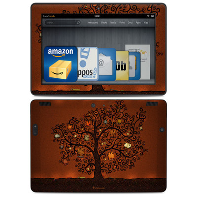 Amazon Kindle HDX 8.9 Skin - Tree Of Books
