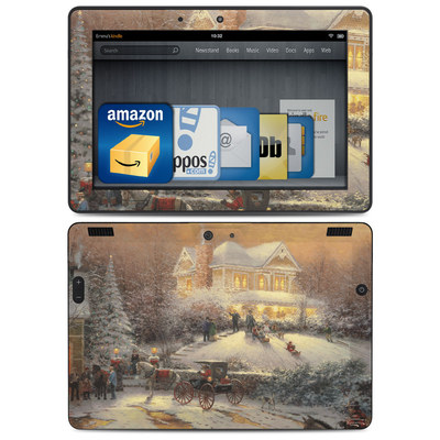 Amazon Kindle HDX 8.9 Skin - Victorian Christmas