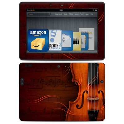 Amazon Kindle HDX 8.9 Skin - Violin