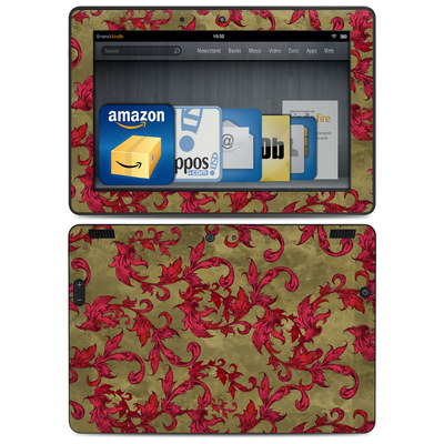 Amazon Kindle HDX 8.9 Skin - Vintage Scarlet