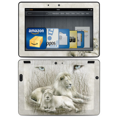 Amazon Kindle HDX 8.9 Skin - White Lion