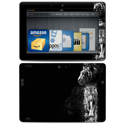 Amazon Kindle HDX 8.9 Skin - White Tiger