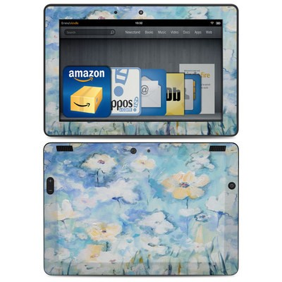 Amazon Kindle HDX 8.9 Skin - White & Blue