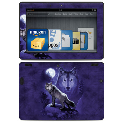 Amazon Kindle HDX 8.9 Skin - Wolf