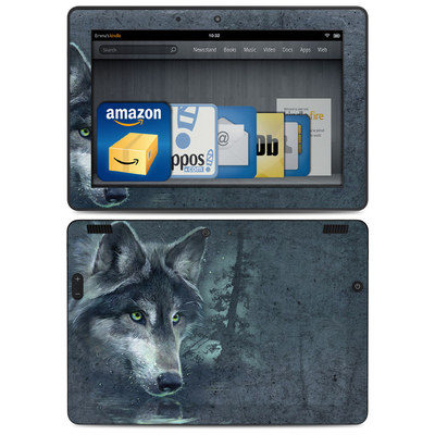 Amazon Kindle HDX 8.9 Skin - Wolf Reflection
