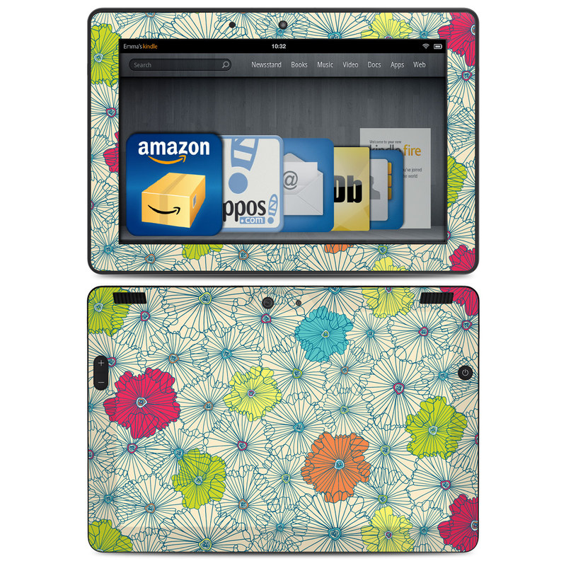 Calendar Girl May Kindle : Amazon kindle hdx skin may flowers by susan claire