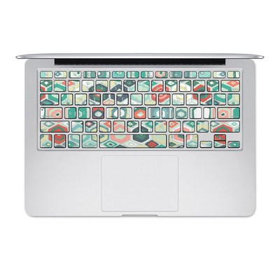 Apple MacBook Keyboard 2011-Mid 2015 Skin - Pastel Diamond