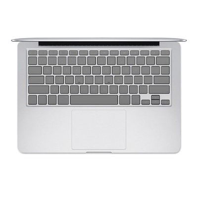 Apple MacBook Keyboard 2011-Mid 2015 Skin - Solid State Grey