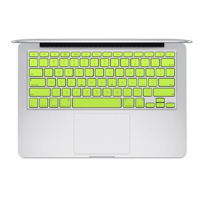 Apple MacBook Keyboard 2011-Mid 2015 Skin - Solid State Lime