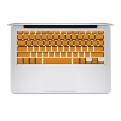 Apple MacBook Keyboard 2011-Mid 2015 Skin - Solid State Orange