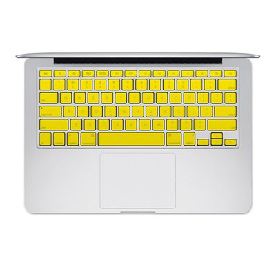 Apple MacBook Keyboard 2011-Mid 2015 Skin - Solid State Yellow