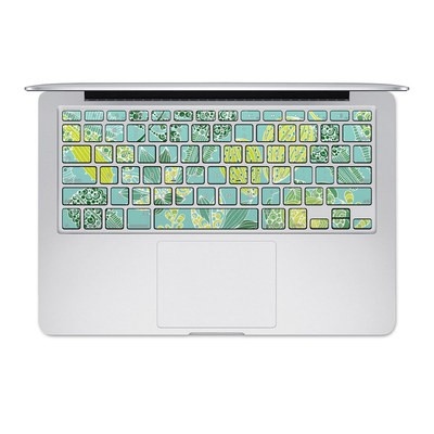 Apple MacBook Keyboard 2011-Mid 2015 Skin - Succulents