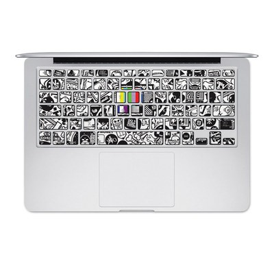 Apple MacBook Keyboard 2011-Mid 2015 Skin - TV Kills Everything