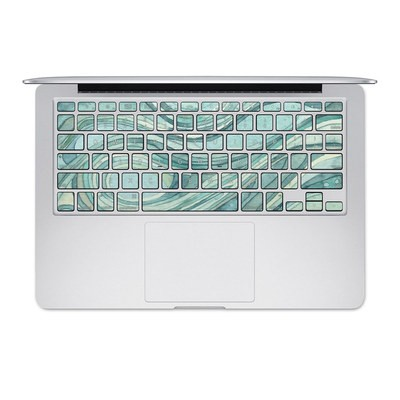 Apple MacBook Keyboard 2011-Mid 2015 Skin - Waves