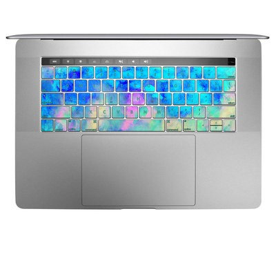 Apple MacBook Pro 13 and 15 Keyboard Skin - Electrify Ice Blue