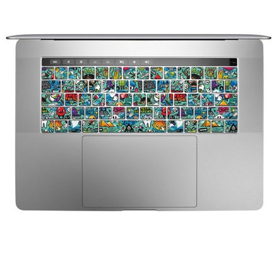 Apple MacBook Pro 13 and 15 Keyboard Skin - Jewel Thief