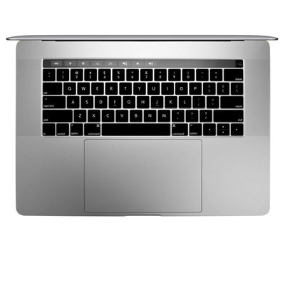 Apple MacBook Pro 13 and 15 Keyboard Skin - Solid State Black