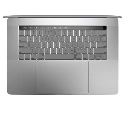Apple MacBook Pro 13 and 15 Keyboard Skin - Solid State Grey