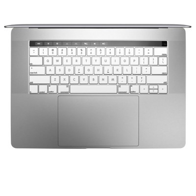 Apple MacBook Pro 13 and 15 Keyboard Skin - Solid State White
