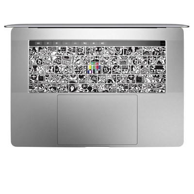 Apple MacBook Pro 13 and 15 Keyboard Skin - TV Kills Everything