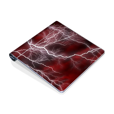 Magic Trackpad Skin - Apocalypse Red