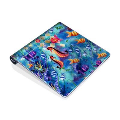Magic Trackpad Skin - Harlequin Seascape