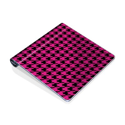 Magic Trackpad Skin - Pink Houndstooth