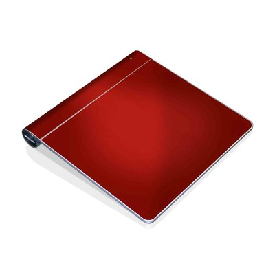Magic Trackpad Skin - Red Burst