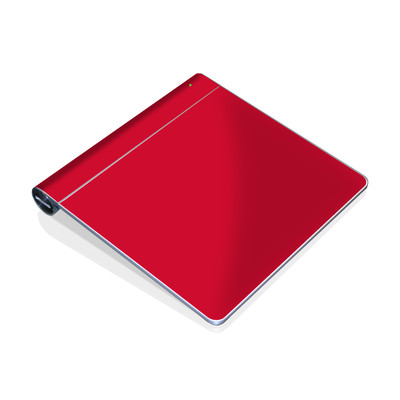 Magic Trackpad Skin - Solid State Red