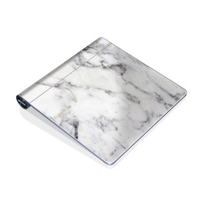 Magic Trackpad Skin - White Marble