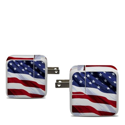 Apple 30W USB-C Power Adapter Skin - Patriotic