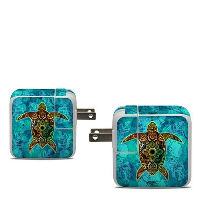 Apple 30W USB-C Power Adapter Skin - Sacred Honu