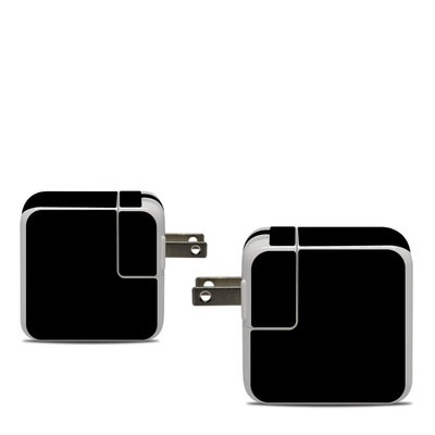 Apple 30W USB-C Power Adapter Skin - Solid State Black